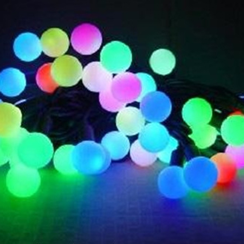 10M 100 LED Ball String Christmas Light Party Wedding Decoration Holiday Lights