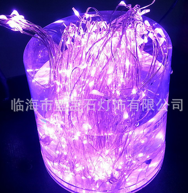 10M 100LED Solar Light String Pink Color Xmas Holiday Light Outdoor Decor Lamp For Party Wedding Garden Christmas Fairy