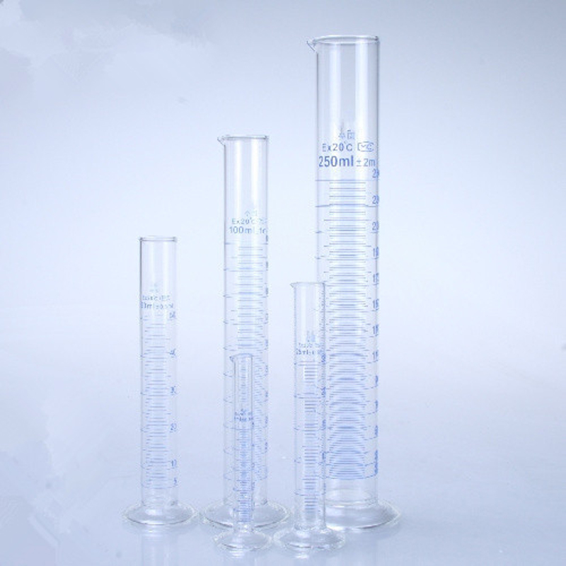 50ml Glass Measuring Cylinder Graduated Cylinders For Lab Supplies Laboratory Tools