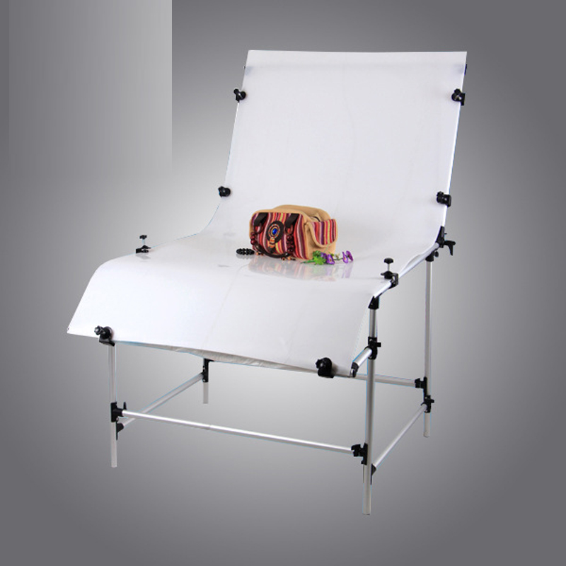 Still life Photography Equipment 100*200cm White Background for Photo Shooting Table