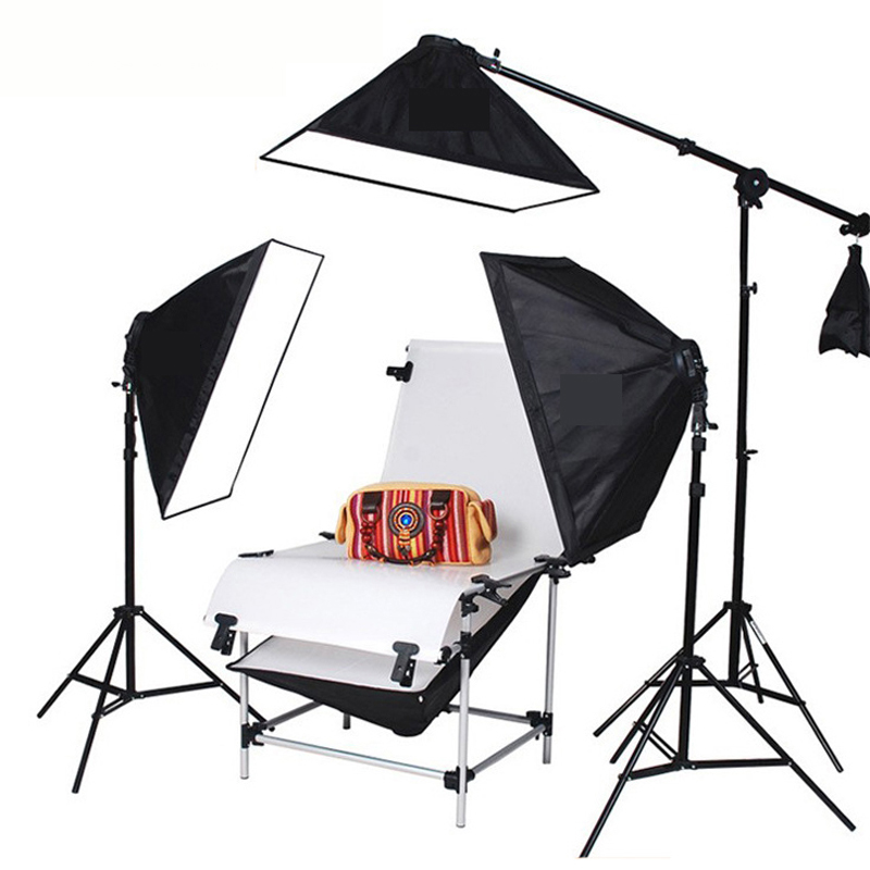 100x200cm Background Bracket Photography Light Softbox Kit