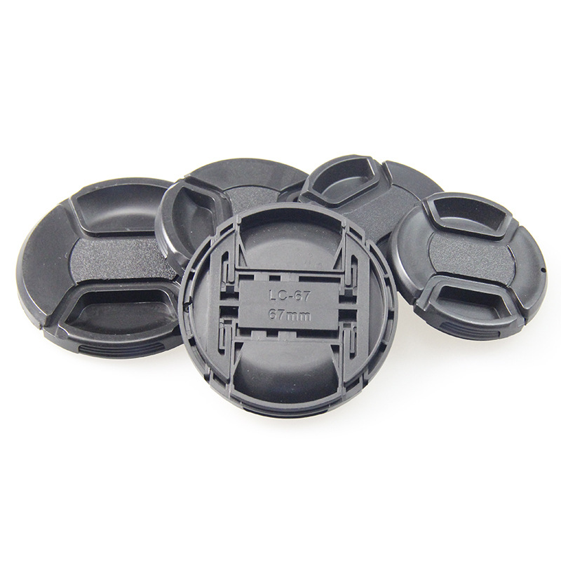 Snap-on Lens Cap for Canon Nikon Sony Olympus DSLR Camera Camcorder