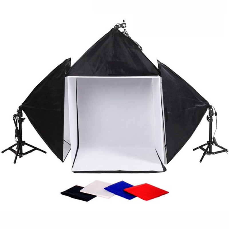 High Quality Photogranphy Square Studio Light Tent Kit