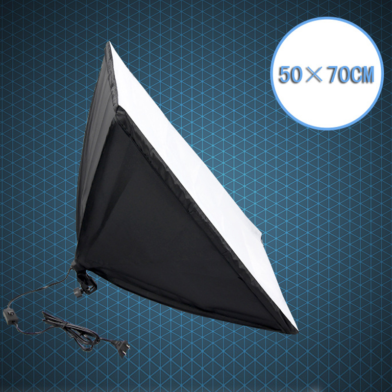 Photo Studio Softbox 50x70cm with Single Lamp Holder