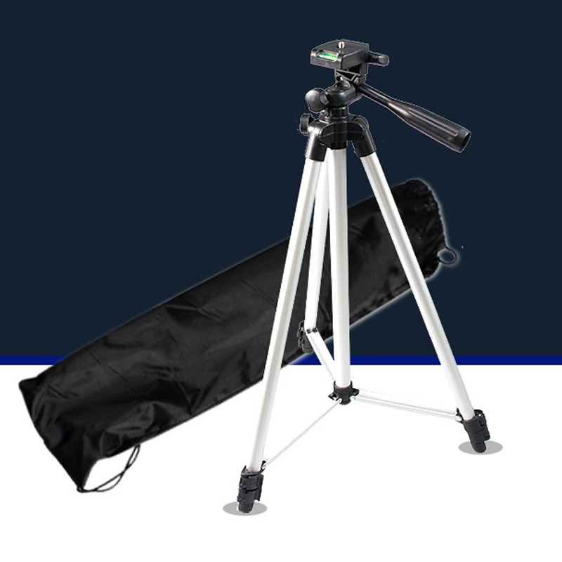 High Quality Extendable Tripod Camera Holder With Level-Meter