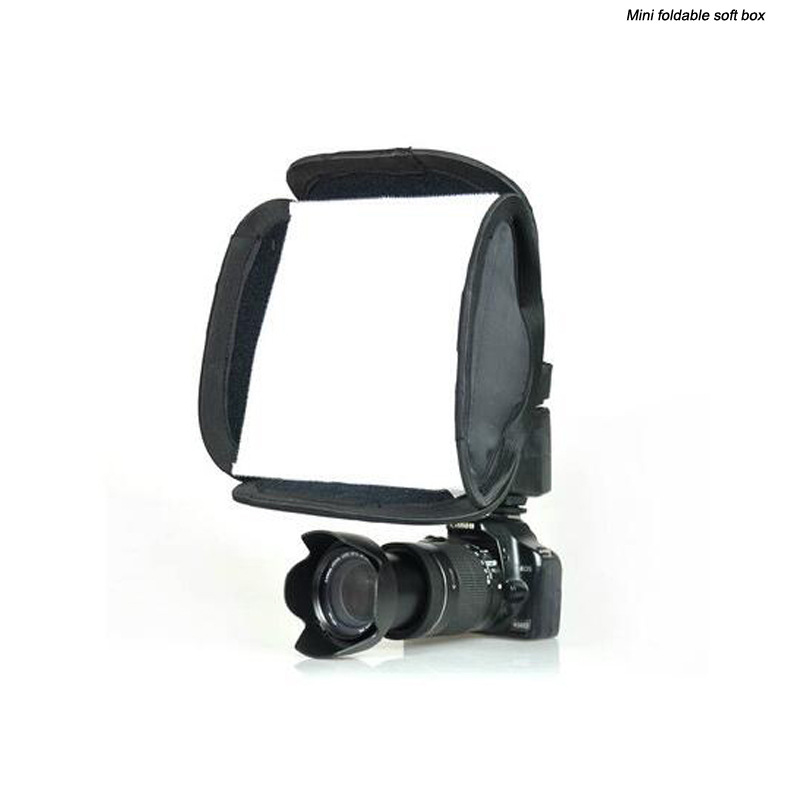 20*20cm Portable Foldable Softbox Photo Studio Accessories
