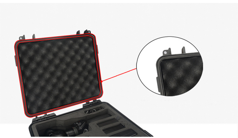 Convenient DJI OSMO/ OSMO+ Suitcase Protective Storage Bag for hand stabilizer&batter