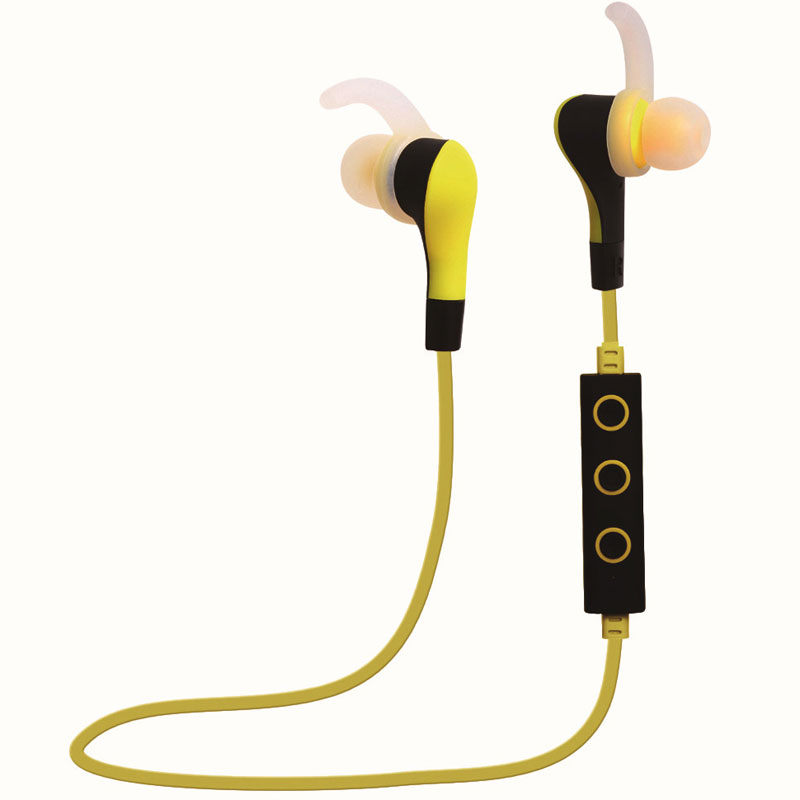 Wireless Earphones Bluetooth Noise Cancelling Headset with Mic Stereo Sports In ear Earphone