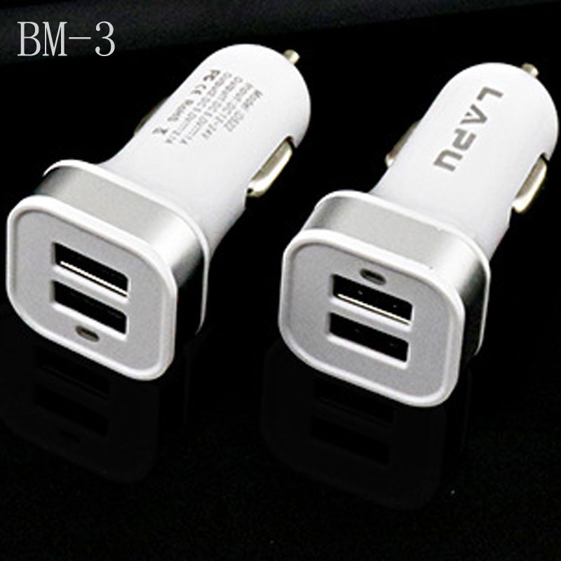 USB Car Charger With Qualcomm Quick Charger Mini USB Car Charger