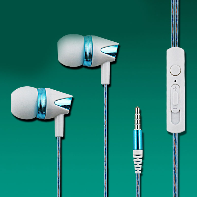 High Quality Perfume Metal Earphone Noise Canceling Earphone Bass Hifi Earbuds With Microphone