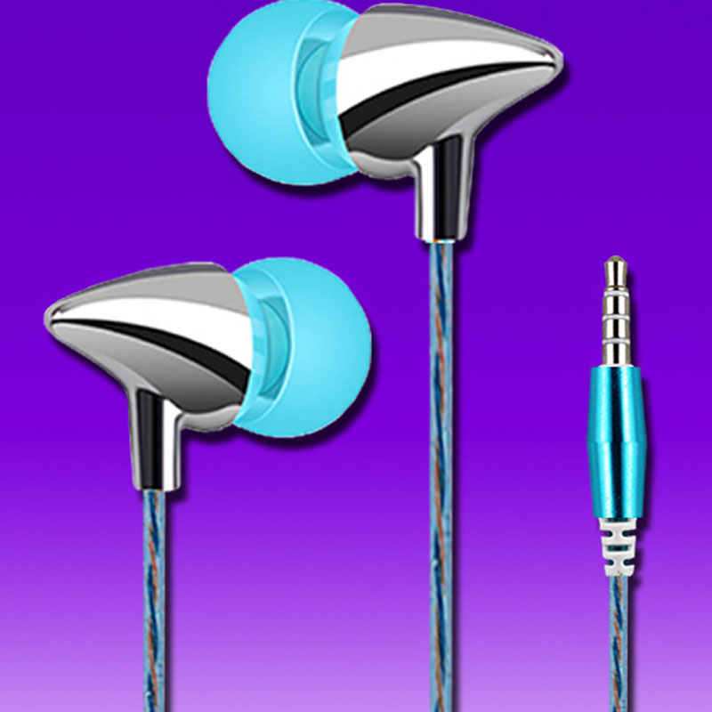 2017 New In-Ear Earphones Super Bass Stereo Perfume Headset Wired Earbuds with Microphone for Phone