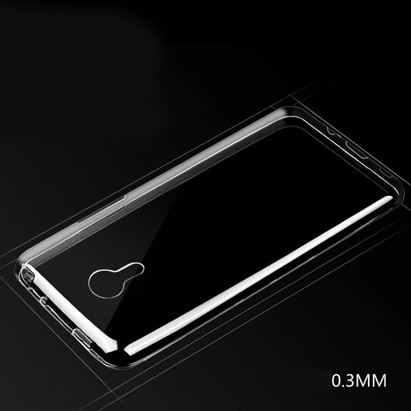 New Ultrathin Cover For MEIZU MX3/MX5 Transparent phone cases For MEIZU MX3/MX5