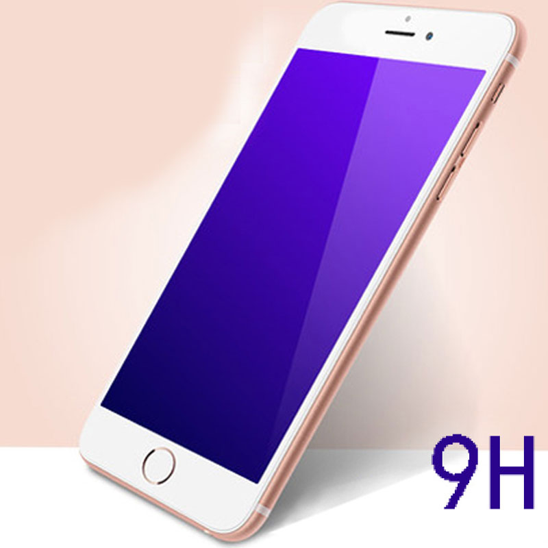 Anti blu-ray/Blue Screen Protector Film, 9H HD Anti-scratch Tempered Glass Mobile Phone Film For iPhone6plus/5s