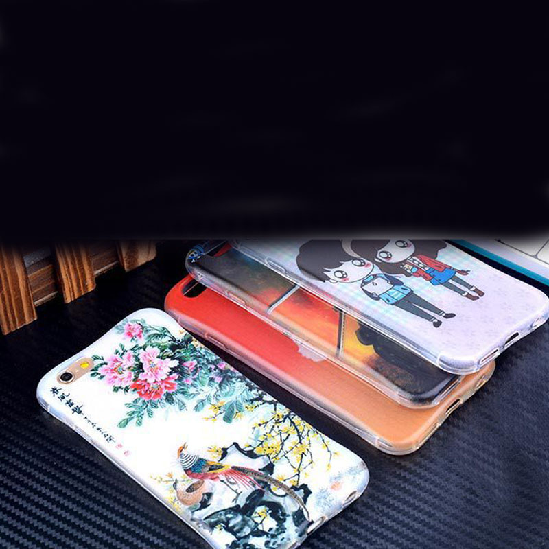 Hot xiaomi phone case shell mobile phone sets millet phone protective shell cartoon shell cover