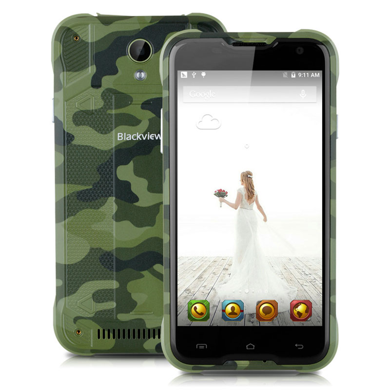 "Blackview BV5000 Waterproof 4G LTE 5"" 2+16G MTK6735 Quad Core Mobile Phone"