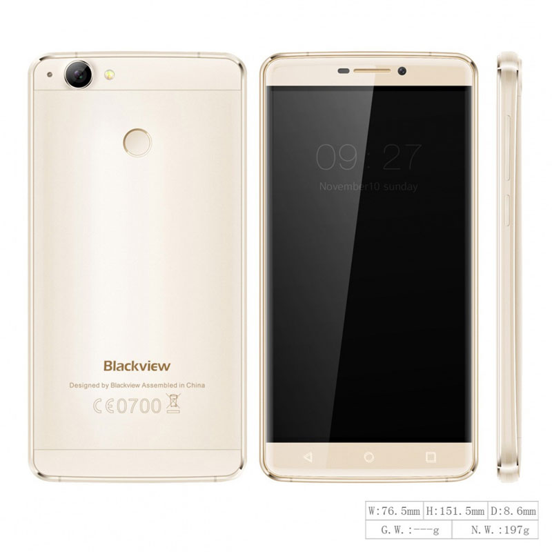 "Blackview R7 4G LTE 5.5"" 4+32G MTK6755 Octa Core Mobile Phone"