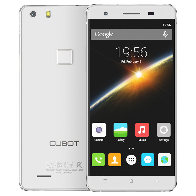 "Cubot S500 4G 5"" 2+16G MTK6735A Quad Core Mobile Phone Android 5.1"