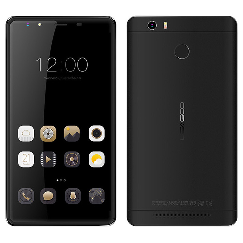 Leagoo Shark 1 4G LTE 6.0 Inch 3+16G MTK6753 Octa Core Mobile Phone