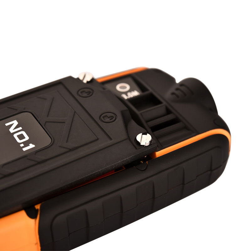 NO.1 A9 2.4 Inch Waterproof Shockproof Dustproof Cell Phone With Power Bank