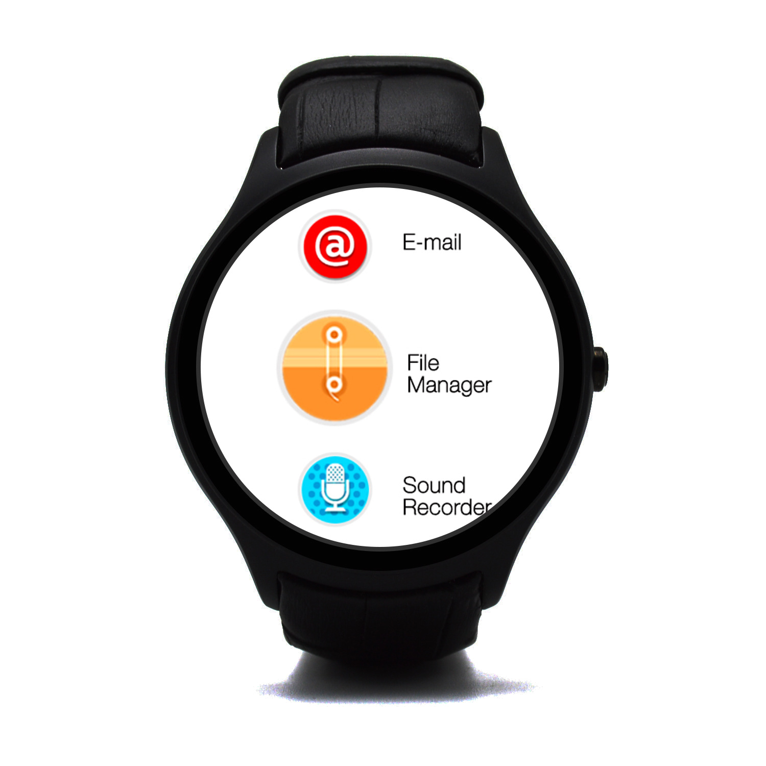 No.1 D5 1.3 Inch 512MB+4GB MTK6572 Dual-Core With SIM Card Smart Watch