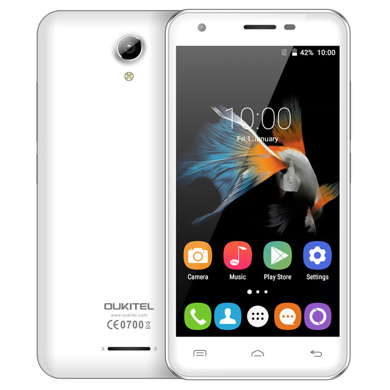 "OUKITEL C2 4.5"" 1+8G MTK6580M Quad Core Mobile Phone"
