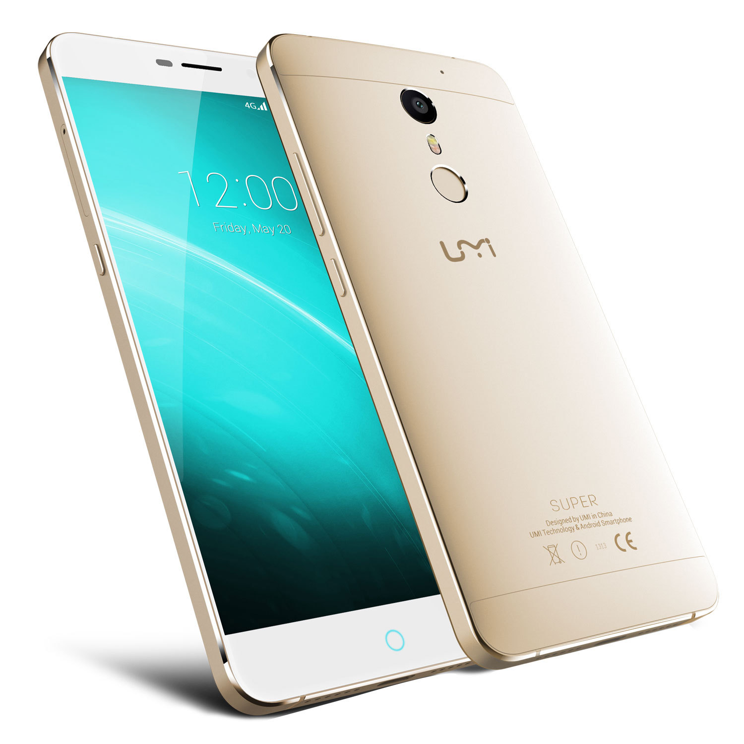 "UMI Super 5.5"" 4+32G MTK6755 Octa Core Mobile Phone"