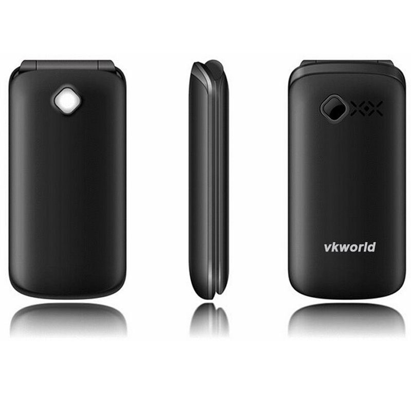 "Vkworld VKZ2 Old Men Feature 2.4"" 64+64MB Dual Core Mobile Phone"