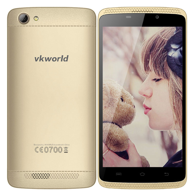 "Vkworld VK700 Max 5.0"" 1+8G MTK6580A Quad Core Mobile Phone"