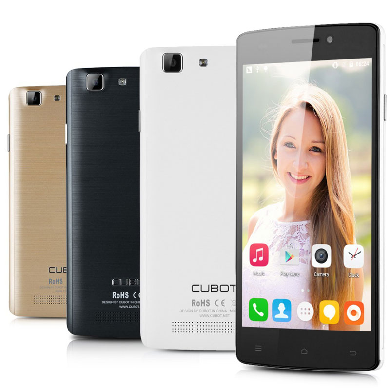 "Cubot X12 5.0"" 1+8G MTK6735 Quad Core Mobile Phone"