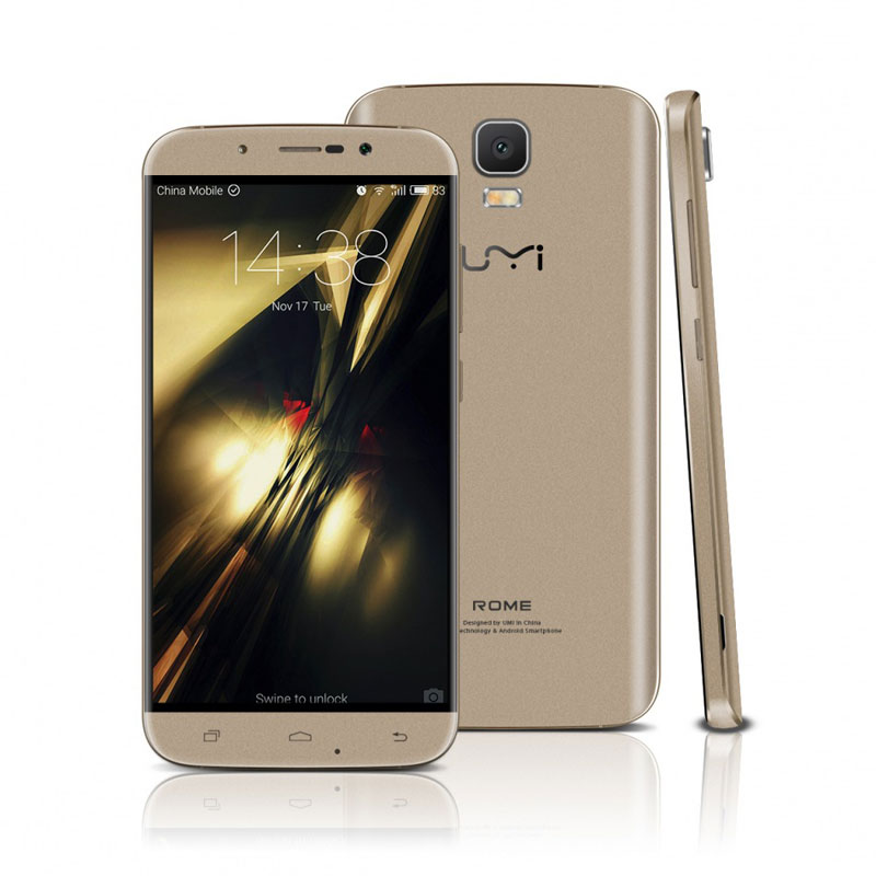"Umi Rome 5.5"" 3+16G MTK6753 Octa Core Mobile Phone"