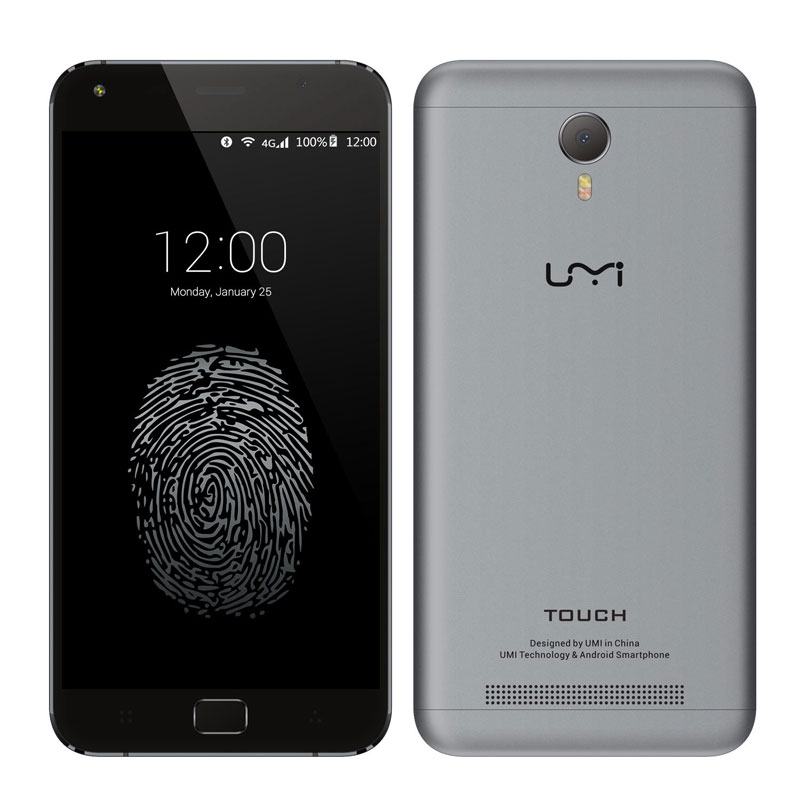 "Umi Touch 5.5"" 3G+16G MTK6753 Octa Core Mobile Phone"