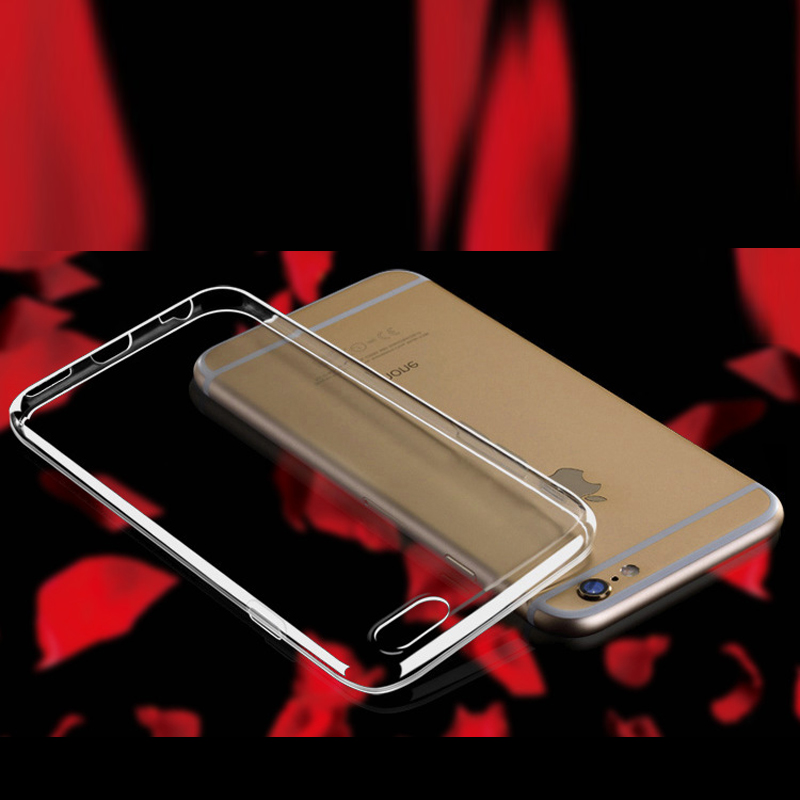 Ultra Thin TPU Transparent Back Cover Case for iPhone6s