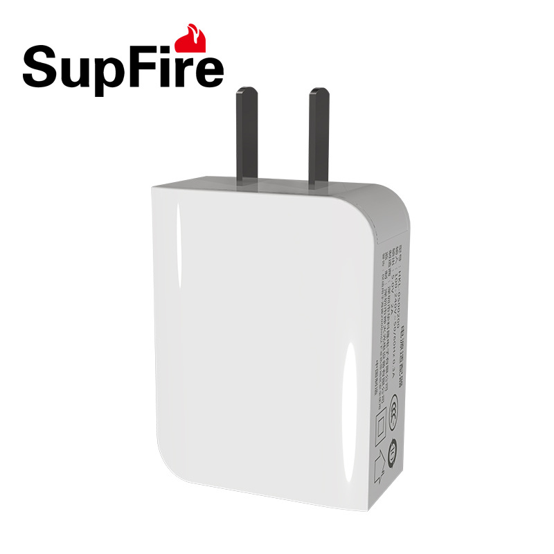 SupFire 3C Mobile phone charger head for iphone MicroUSB Android 2A charging head