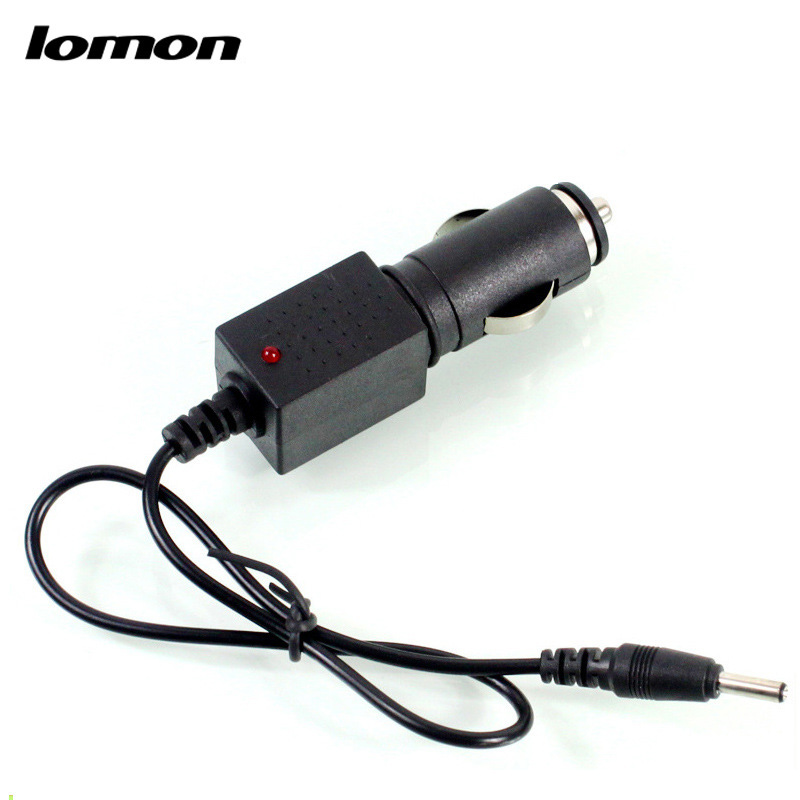 Lomon Lithium Battery Car Charger for Flashlight P16