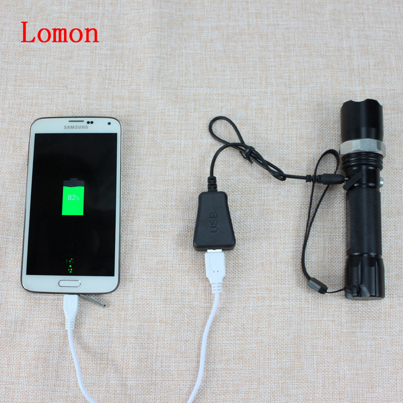 Lomon Flashlight USB/Mobile Phone USB Interface Converter P18