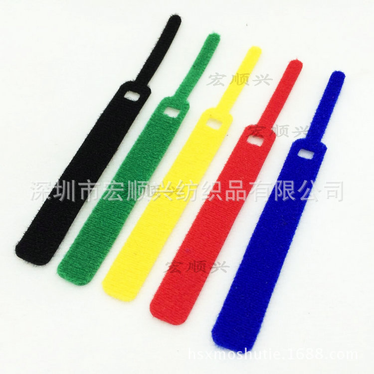 free shipping various Velcro cable tie Back to back data cable ties wholesale