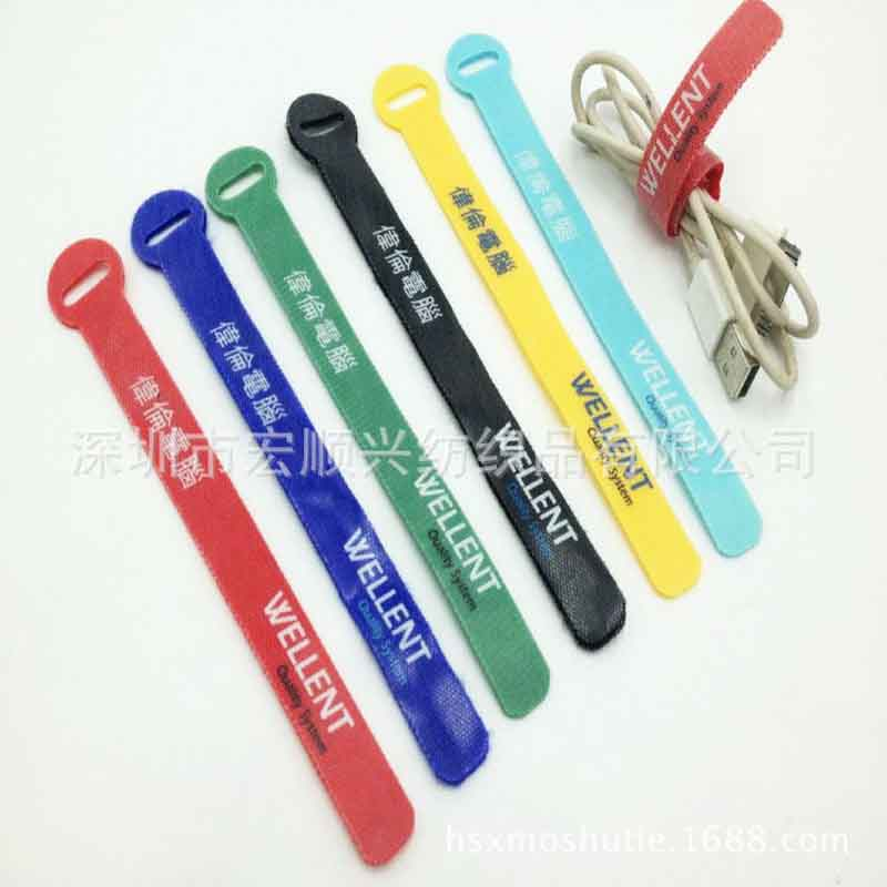 Environmental velcro strap Special binding band for electronic gift self-stick strap 14*160mm