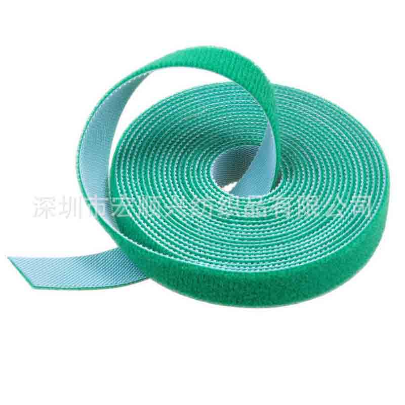 Back-to-Back magic paste strap cable tie 5M /roll velcro wholesale custom