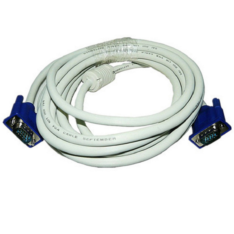 High Quality Projector Cable 3+4 VGA Cable 3 Meters 15-pin For 15-pin TV Monitor Projector Cable
