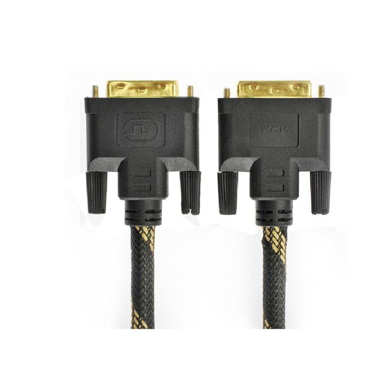 Top Quality DVI24 + 1 Line DVI Cable HD Cable data Dable DVI-D 24 + 1 Pin Male Computer monitor HD
