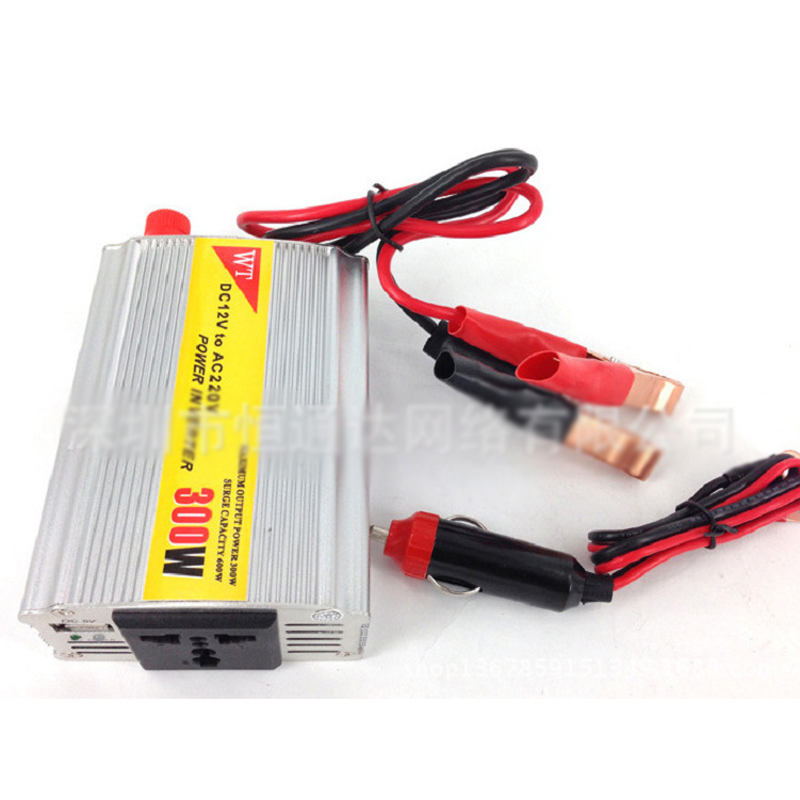 NEW!Portable Car Power Inverter Adapater Charger Converter Transformer DC 12V to AC 220V Free Shipping