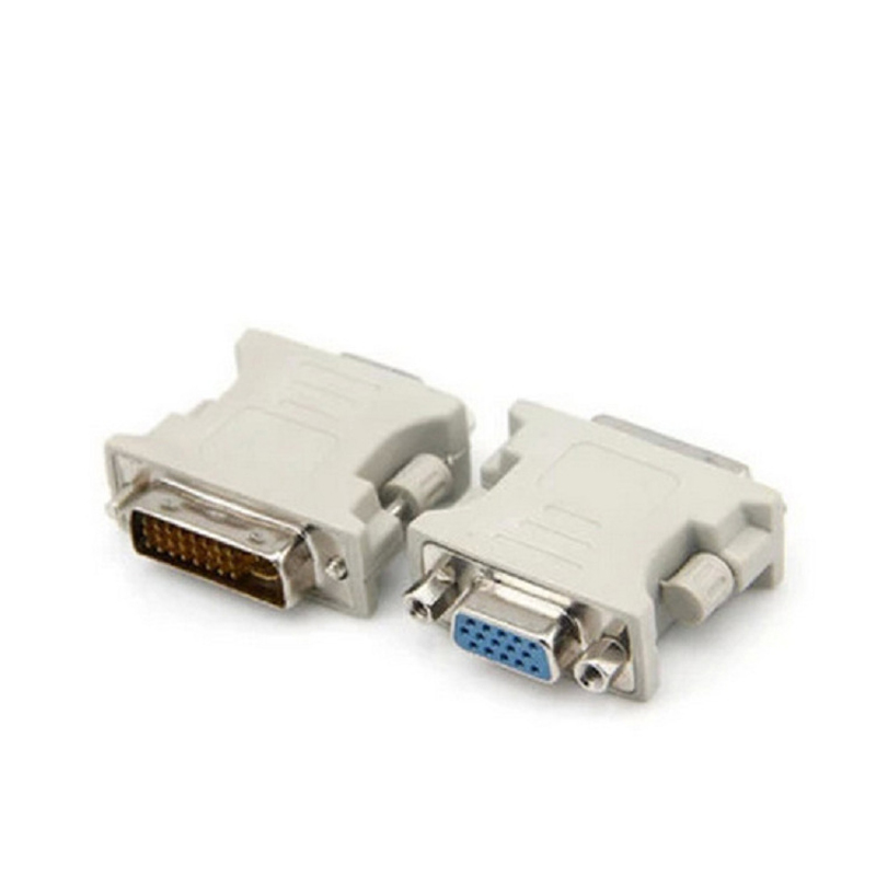 Hot Sale Male DVI-D to Female VGA Monitor Converter Adapter