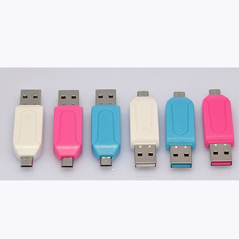 High Quality OTG Card Reader TF/SD Multi-function Card Reader