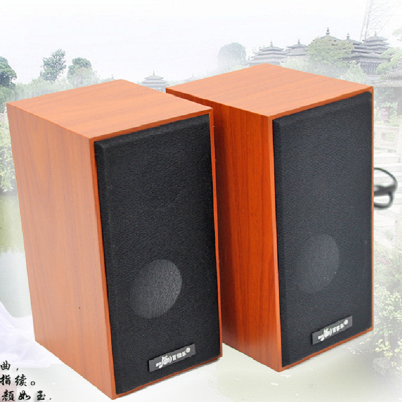 High Fidelity HiFi USB Speaker Stereo HD Sound Video Box Loudspeakers for Computer Laptop M5