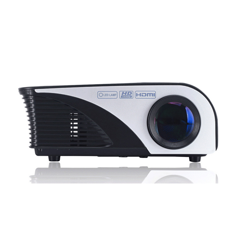 New Style Smartphone Projector 1200 Lumens Support 1080p Video Via Hdmi Vga Usb Av Mini321 For Home Theater Play Games