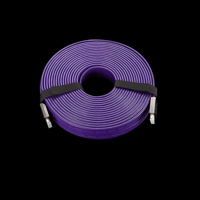Purple HDMI 2.0 Version HDMI Cable Male-Male Silver Plated HDMI Cable for HDTV 1080P 2K 4K 3D Ethernet DH-2115-Z