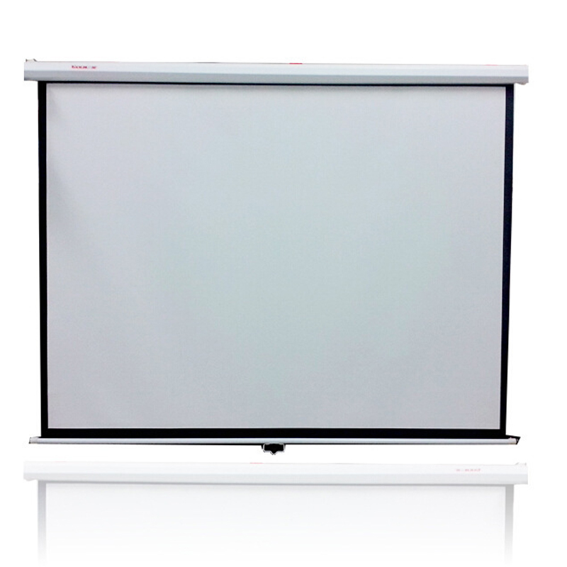 "High-Class 120"" 4:3 Rear Projection Screen Special PVC Soft Curtain with Eyelet for Any Projector Home Theater Outdoor Film"