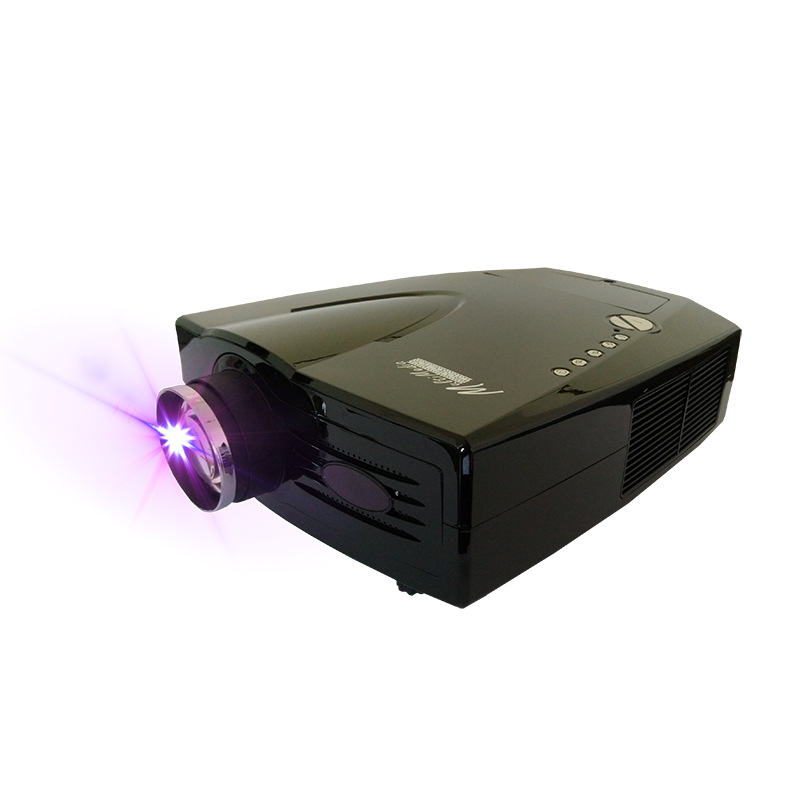 Hot Sale 3D Digital Projector LED 2000 Lumens Video Projecteur Support 1080P Via HDMI for Home Theater