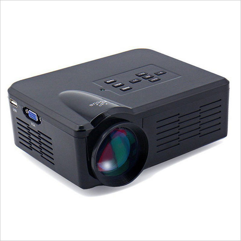 Tablet Projectors DLP Android Projector Via Touch Panel Built-in MIC Surfing Internet Wifi Beamer DH- mini293