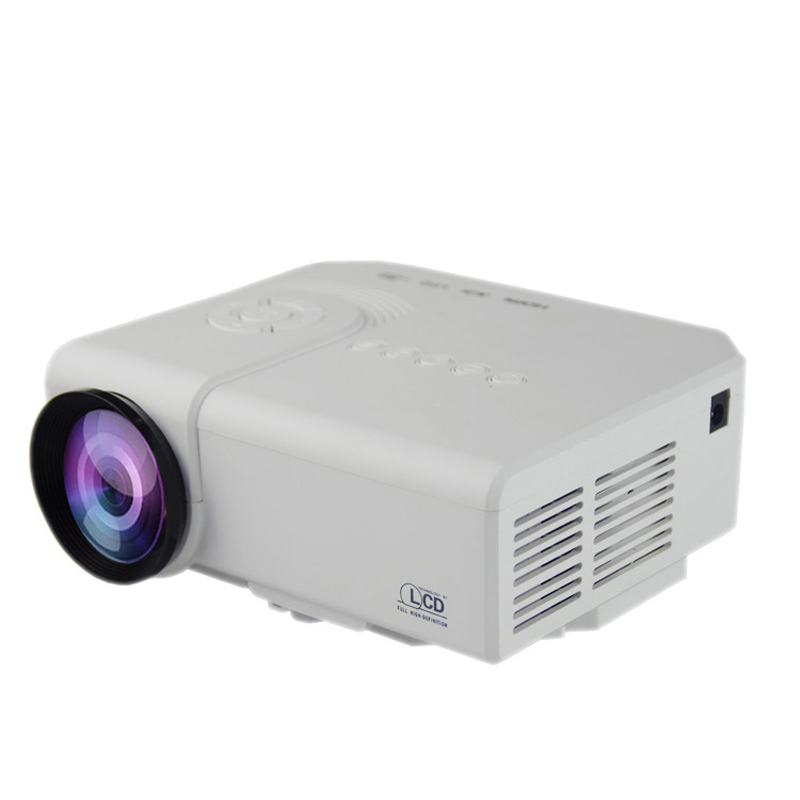 New Projector 3D 10000lms Full HD Highlight Proyector Motorized LED Lamp Built in Speaker Beamer DH-A30